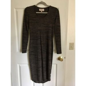 Long sleeved comfy dress
